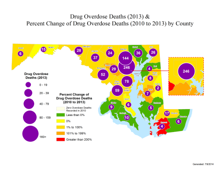 Drug Related Deaths - courtesty MD StateStat