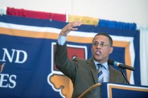 Democratic Gubernatorial Candidate Lt. Governor Anthony Brown Courtesy Joe Lamberti/AP Photo